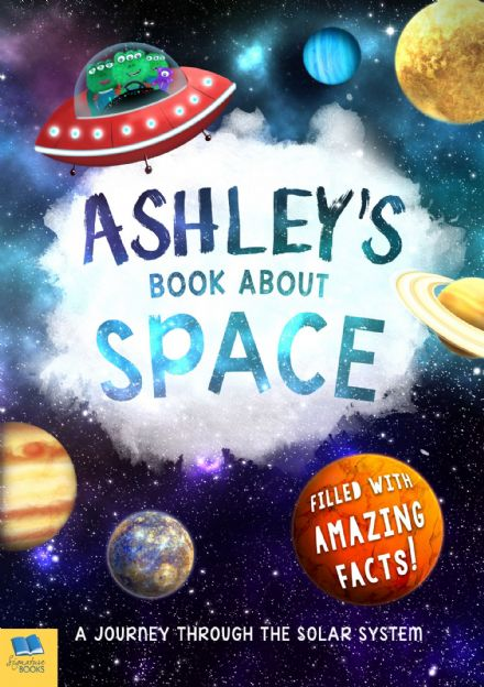 Personalised Children's Space Book